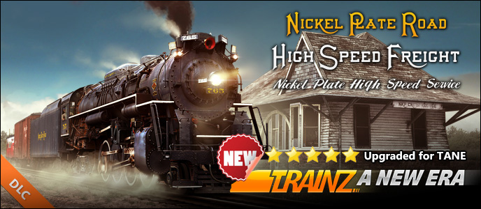 Nickel Plate High Speed Freight Set