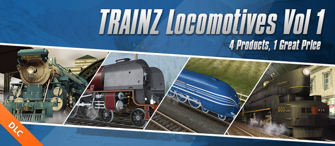 DLC Locomotives Volume 1