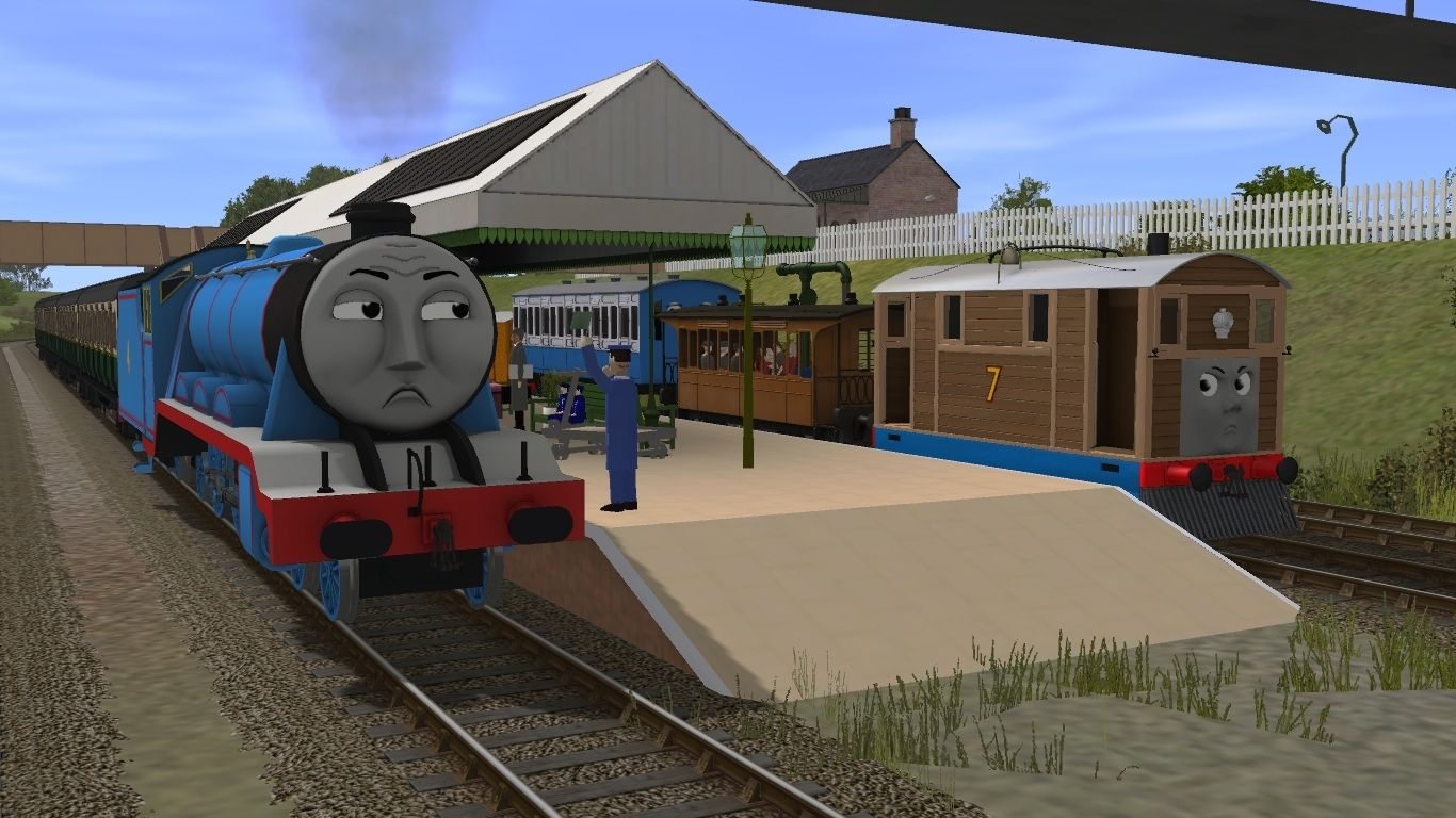 Try These Trainz Download Station Thomas {Mahindra Racing}