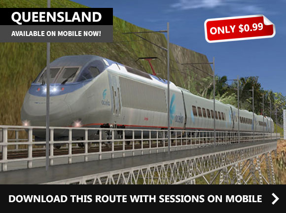 QUEENSLAND - MOBILE ROUTE