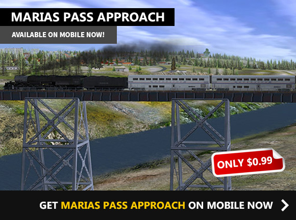 MARIAS PASS APPROACH ON MOBILE