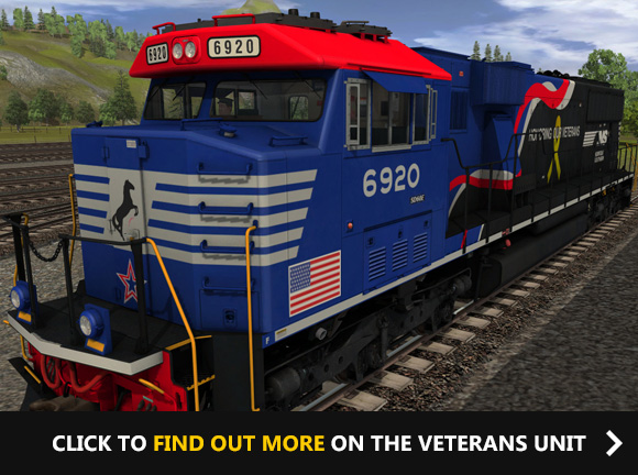 NS SD60E - 6920 VETERANS UNIT