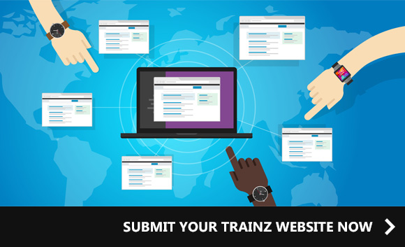 SEND US YOUR TRAINZ WEBSITE