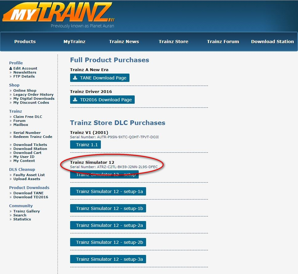 Downloading and Installing from Store TrainzPortal com