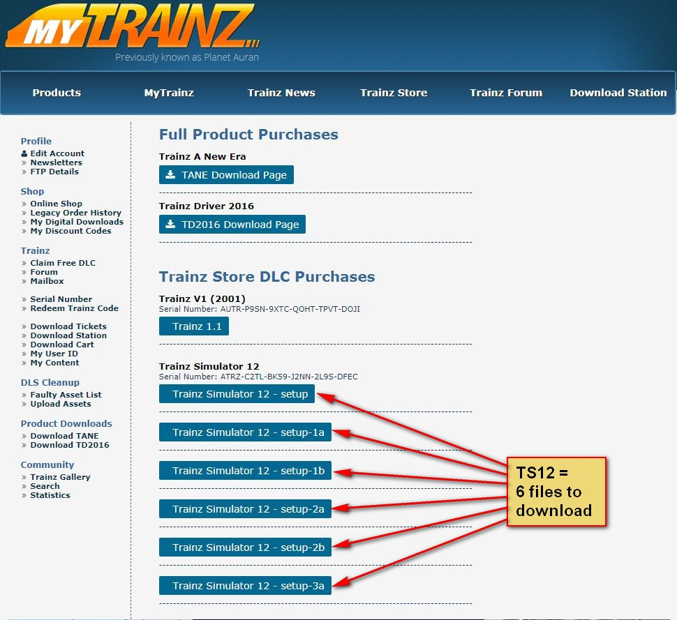 Downloading and Installing from Store TrainzPortal com - Powered by